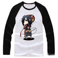 >> Click to Buy << HOT SALE Anime Naruto Sasuke Long Sleeve T-shirt Spring Autumn New Fashion Cotton 2016 T Shirt Casual Clothes #Affiliate