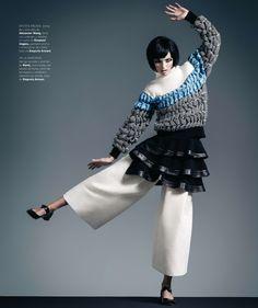 Ymre Stiekema by Ohnur for Harper's Bazaar Spain November 2014 [Editorial]