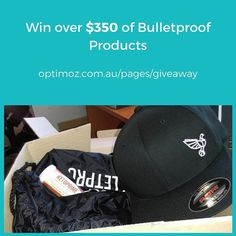Want to win $350 of Bulletproof products? Enter the Bulletproof Swag Bag giveaway!  http://ift.tt/2gC1iBc (--> clickable link in bio)  The swag bag includes: -- Limited-edition Bulletproof Bag -- Exclusive Bulletproof Hat -- Exclusive pre-release sample of Ketoprime -- Bulletproof Coffee Variety Pack (Original Mentalist French Kick) -- One pack of Collagen Protein Bars -- Brain Octane Oil -- Unfair Advantage  Best of luck!
