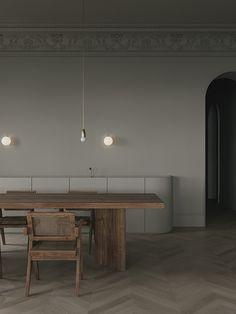 Elegant minimalistic kitchen by Emil Dervish and Evgeniy Bulatnikov