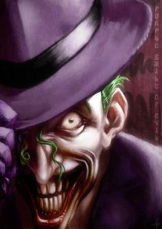 Jack Napier, a character in Batman: Gotham in Ruins Joker Batman, Joker Y Harley Quinn, Joker Clown, Joker Face, Joker Kunst, Emo, The Man Who Laughs, Comic Art, Comic Books
