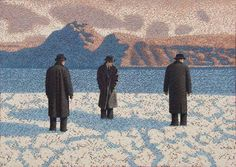 Catto Gallery | Mark Edwards Solo Exhibition 2016 | Waiting for the Boat