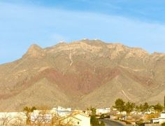 Thunderbird Mountain, El Paso, TX  It's why the Coronado T-Birds are called the T-Birds!
