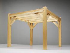 timber frame pergola - Google Search
