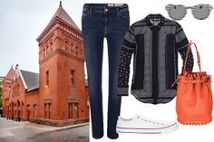 love this casual look espec. the Alexander Wang diego bag!