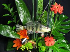 A Fishing Floral Fantasy - Shirley's Flowers & Gifts, Inc., in Rogers, Ark. | Flickr - Photo Sharing!