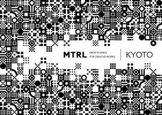 MTRL KYOTO   New Identity on Branding Served - squares connecting give it a techy feel