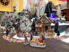 christmas lemax display 2012 christmas village display christmas town christmas in the city - Michaels Christmas Village