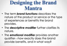 google brand mantra Mantra is a course designed to teach you how to live the laptop lifestyle as a  real estate professional so many agents get caught up in building a business.