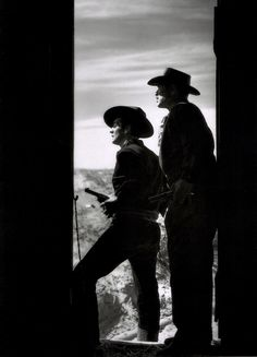 Victor Mature and Ward Bond in My Darling Clementine (John Ford, 1946). S)