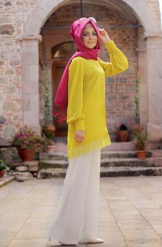 Pınar Şems - Oksit Dantel Tunik