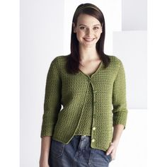 Easy Women's Cardigan Crochet Pattern