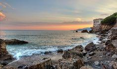 The House on the Rocks. HDR Villammare Photomatix-32 bit blending | HDR Photography Giuseppe Sapori