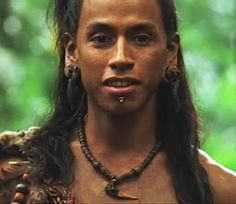 Rudy Youngblood as Jaguar Paw in Apocalypto~So Hot!