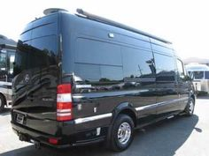 2012 Airstream Interstate - Lounge Black Mercedes Benz Sprinter 3500 Diesel Class B RV Motor Home