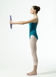 Pilates ring exercises to improve your port de bras. Photo by Nathan Sayers.