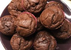 Csokis-banános muffin (cukormentes)   Angelkee receptje - Cookpad receptek Muffin, Diabetic Recipes, Diet Recipes, Healthy Cake, Health Eating, Tiramisu, Sugar Free, Healthy Lifestyle, Food And Drink