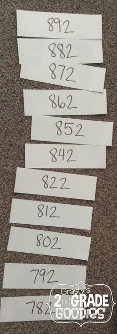 Skip Counting by 10s  FREE ACTIVITY IDEA