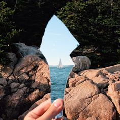 The land and the sea by casey_coulter - using mirrors