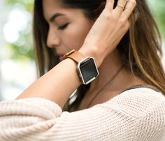 Fitbit Blaze:  A lot of my friends use this when we work out.  I love the look and function of this one.