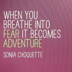 Ooooh! Love this and I love SOnia Choquette! Dawn Champine, www.msblisscoach.com