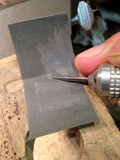 Making a Burnishing Tool - Come fare e usare un brunitore