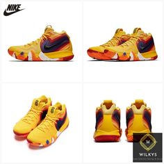 d9d2fcdc02a94e NIKE Kyrie 4 Original Mens Basketball Shoes Breathable Stability Anti-slip  Outdoor Sport Sneakers For