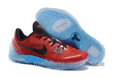 sneakers for cheap 9054f 9c18d Cheap Nike Zoom Kobe Venomenon 5 Red Black Soft Blue Discount 2RHXkM