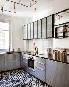 Modern and traditional encaustic cement tiles factory Terrazzo, Küchen Design, Interior Design, Mosaic Del Sur, Kitchen Mosaic, Tile Showroom, Tile Manufacturers, Geometric Tiles, Black And White Tiles