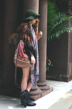 Style Inspiration: Boho Traveler