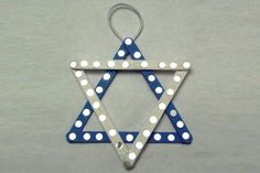 Hanukkah Crafts Star Of David