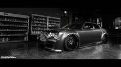 Platinum VIP x LIberty Walk Japan // Slammed Chrysler 300. | Stance:Nation - Form > Function