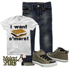 Not to sure about the shirt but love the jeans and shoes