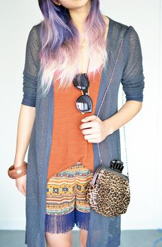 in love with dip dye <3