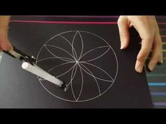 This is the first video tutorial about mandalas. Here you can find a way to draw a super easy mandala (it looks like a flower), perfect for begin. Dot Painting Tools, Acrylic Painting Lessons, Dot Art Painting, Painting Videos, Pattern Wall, Mandala Pattern, Mandalas Painting, Mandalas Drawing, Mandala Doodle