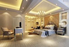Lovely Huge Master Bedroom