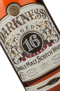 DARKNESS WHISKY on Behance