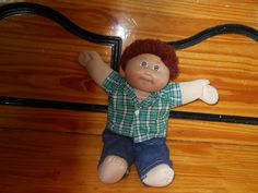 So So Cute Vintage Auburn Hair Cabbage Patch Boy 1883 Xavier Roberts