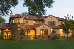 Spanish Colonial Revival Home Tour
