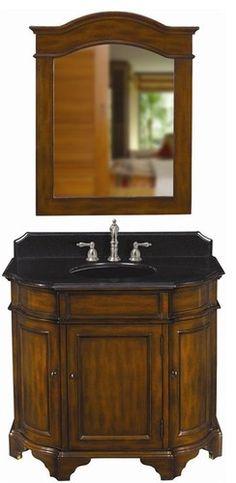 Belle Foret Model BF80058R Single Basin Vanity - bathroom vanities and sink consoles
