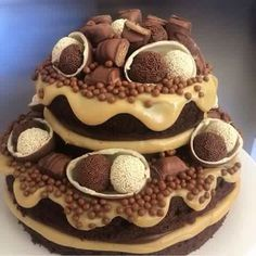 Kinder torta Cakes And More, No Bake Cake, Nutella, Chocolate Cake, Cookie Recipes, Cake Decorating, Food And Drink, Yummy Food, Sweets