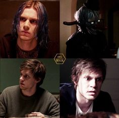 KAI Anderson, Evan's greatest role on AHS to date. Follow rickysturn/evan-peters
