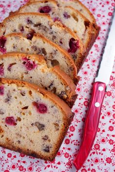 White Chocolate Cranberry Bread from @Patty Price / Patty's Food