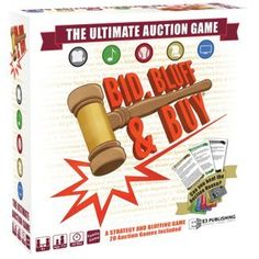 Bid Bluff Buy Board Game     Click for Special Deals  PartyGame bfc1bcf96b6e3