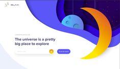 Prognozowane trendy w web designie 2019 - BDG Creative Lorem Ipsum, Universe, Vogue, Chart, Creative, Pretty, Grief, Cosmos, Space