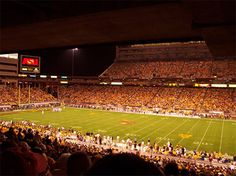 Custom stadium sound clips for NCAA 2010 - Arizona State Sun Devils. Sun Devil Stadium, Tempe Arizona, Arizona State University, Great Hotel, Spring Training, National Championship, Large Photos, I School, College Football