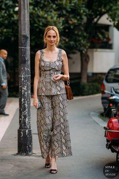 Haute Couture Fall / Winter 2018/19 Street Style: Lauren Santo Domingo