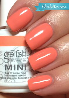 Gelish Sweet Morning Dew Swatch - Love in Bloom Collection