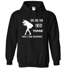 Freeze Time - #tshirt with sayings #hoodies womens. MORE INFO => https://www.sunfrog.com/LifeStyle/Freeze-Time-Black-jigh-Hoodie.html?68278