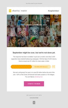 A showcase of charity email designs to inspire your marketing and fundraising